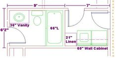 Basement remodel on pinterest bathroom laundry rooms for Bathroom remodel 6x7