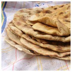 Tunnbröd med Bovete & potatis (glutenfritt, mjölkfritt, äggfritt, jästfritt)