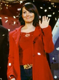 """Joanna Johnston designed fashion in 2003  """"Love Actually"""", including this beautiful outfit worn by Martine McCutcheon."""