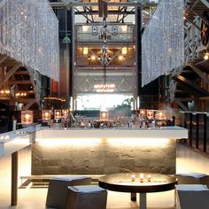 Named 'bar of the year' by countless magazines and even notching up a 'top ten bars in the world' nod from Conde Nast Traveller, Water Bar is the epit Nightclub Bar, Sydney Food, Small Bars, Cool Bars, Restaurant Bar, Night Life, Bar Stools, Chandelier, Lounge