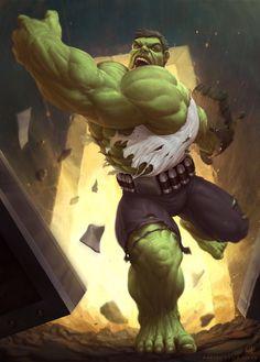 Hulk y los Pantheon, Raciel Avila Marvel Comics Superheroes, Marvel E Dc, Marvel Characters, Marvel Heroes, Marvel Avengers, Marvel Universe, Univers Marvel, Captain America, Hulk Artwork