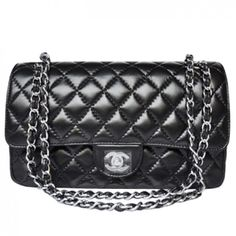 Chanel 1112 Black Blackinside Silverchain -  245.57 I Love Fashion, Fashion  Beauty, High Fashion ceb12cc6d24