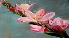 Spring, Plants, Painting, Beautiful, Art, Art Background, Painting Art, Kunst, Planters