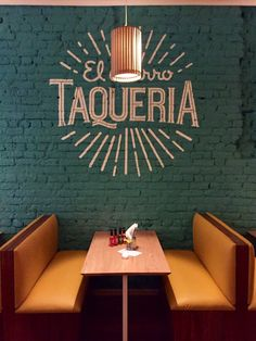 The Local's Guide: 10 Exciting Restaurants To Try In Cape Town, South Africa… The Local Guide: 10 aufregende Restaurants in Kapstadt, Südafrika Mexican Restaurant Design, Mexican Bar, Restaurant Signage, Restaurant Interior Design, Cafe Interior, Mexican Restaurants, Vintage Restaurant Design, Caffe Bar, Bar Deco