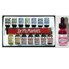 Dr. Ph. Martin's Radiant Concentrated Watercolor Sets | Ph Martin Radiant Watercolors - JerrysArtarama.com