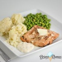 THM Grilled Salmon (with ideas for meal type variations with different sides)