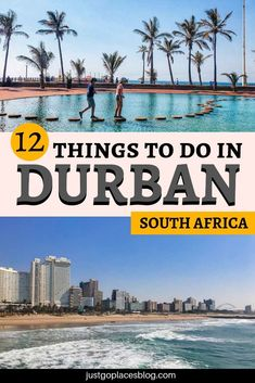 travel destinations africa There are tons of fun things to do in Durban, South Africa, such as taking a Durban City Tour, wending your way down the Durban Golden Mile or cage diving with sharks. Check out what to do in Durban! Durban South Africa, Visit South Africa, Africa Destinations, Travel Destinations, Safari, Travel Photographie, Africa Travel, Cool Places To Visit, Strand