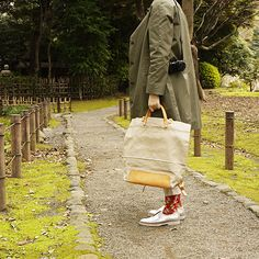 #lines #leather #tote #ruck #twoway #bag by #stevemono and #socks by #ayame and #leather #shoes by #malababa