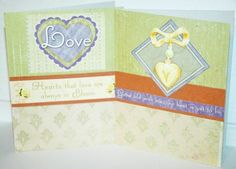 #luvncrafts on Artfire    #love                     #Green #Love #Themed #Valentines #cards             Set of Two Green Love Themed / Valentines cards                               http://www.seapai.com/product.aspx?PID=378825