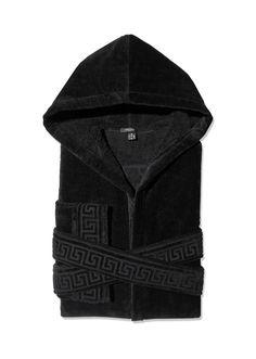 VERSACE Medusa Hooded Bathrobe. #versace #cloth #medusa hooded bathrobe