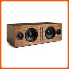 Audioengine B2 Premium Bluetooth Speaker (Walnut) - Fun stuff and gift ideas (*Amazon Partner-Link)