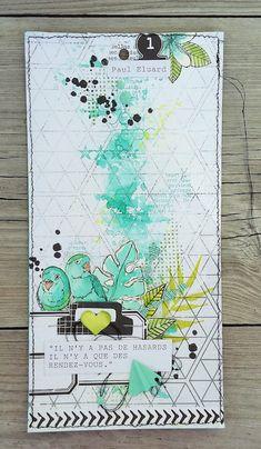 Art journals 296815431683804381 - Mini album citations * Dt Ephéméria * Source by sandramvme Mini Albums Scrapbook, Project Life Scrapbook, Vintage Scrapbook, Art Journal Pages, Art Journals, Album Vintage, Mixed Media Cards, Art Journal Inspiration, Card Tags