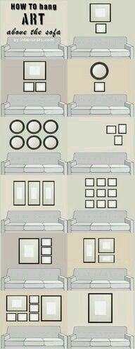 Graphs That Will Turn You Into an Interior Decorating Genius These 9 home decor charts are THE BEST! I'm so glad I found this! These have seriously helped me redecorate my rooms and make them look AWESOME! Definitely pinning this!These 9 home decor charts Diy Casa, Boho Home, Hanging Pictures, Picture Hanging Tips, Photo Hanging, Framed Pictures, Home And Deco, Cheap Home Decor, Home Decor Dyi