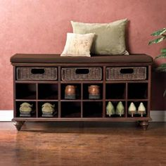 When we get a house:) Chelmsford Shoe Bench, Shoe Organizer, Shoe Storage | Solutions
