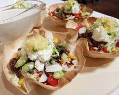سلطة التاكو (Taco salad) بطريقة الشيف سالى فؤاد من برنامج حلو وحادق ~ مطبخ أتوسه على قد الايد