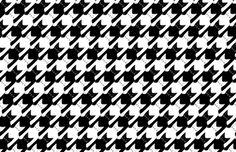 cats-tooth in black and white (large scale) fabric by eleventy-five on Spoonflower - custom fabric