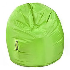 #Kindersitzsack von Pushbag - Bag 300: Lime