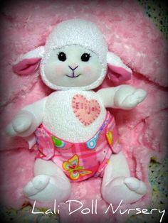 PDF PATTERN Baby Sock Lamb $9.99