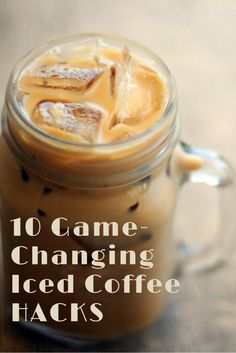 Iced coffee season is here! These hacks will make it so much tastier