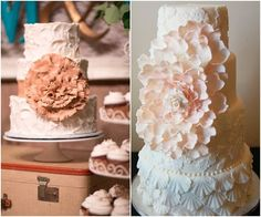 Adorn Your Dessert Table With One of These Unique Wedding Cakes