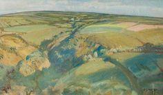 Withypool Hill, Exmoor - (5) de Sir Alfred James Munnings (1878-1959, United Kingdom)