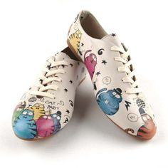 Cat Party Shoes by DOGO This is something Liz Pastor would wear hahaha