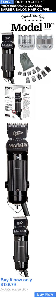 Clippers and Trimmers: Oster Model 10 Professional Classic Barber Salon Hair Clipper #1 And 000 + 10 Comb BUY IT NOW ONLY: $139.79