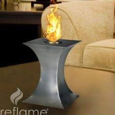 Features:  -Contemporary concept of fireplace design.  -Indoor or outdoor use.  -No venting required.  -Minimal installation required.  -Unparalleled design flexibility.  -Ecological fuel.  Product Ty