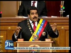 President maduro announces new economic measures to tackle the crisis.