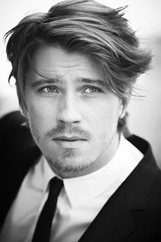 Garrett Hedlund. Wish he would talk me to sleep.. Love his voice!