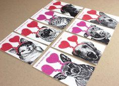 FuzzyMug Mini Valentines - Set of 32