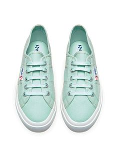 Brand New Mint Superga Brand new with tags Beautiful mint green supergas. Sock Shoes, Cute Shoes, Me Too Shoes, Shoe Boots, Shoes Sneakers, Shoes Heels, Mint Shoes, Superga Sneakers, Flats