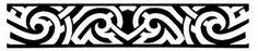 Armband Samoan Maori tattoo stencils