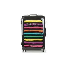 Little Marcel MALTE-75 Hard Suitcase (6.810 RUB) ❤ liked on Polyvore featuring bags, luggage and multicolour