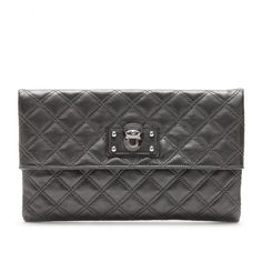 Marc Jacobs - Large Eugine Quilted Leather Clutch