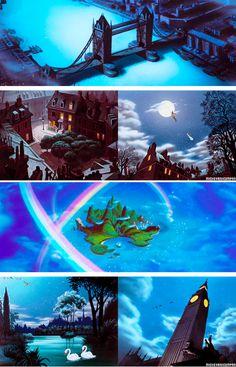 peter pan + scenery