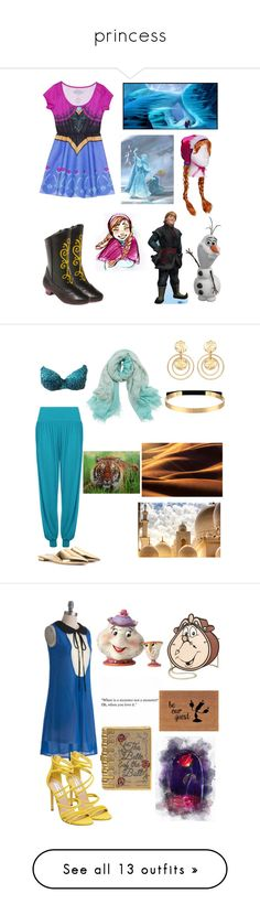 """""""princess"""" by thatimr ❤ liked on Polyvore featuring Disney, Buy Seasons, WearAll, Prada, Bajra, Kenneth Jay Lane, Steve Madden, Romeo + Juliet Couture, Danielle Nicole and Judith Leiber"""