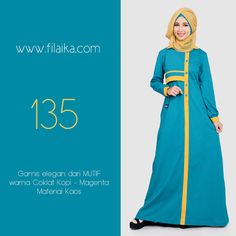Gamis Mutif 2016, Mutif 135. Dapatkan item ini di distributor resmi Filaika.com Hubungi : SMS / Whatsapp : 08123831280 BBM : 5F03DE1D