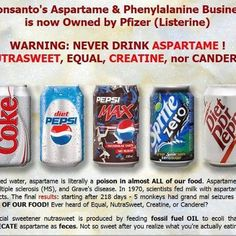 Cut out the Aspartame