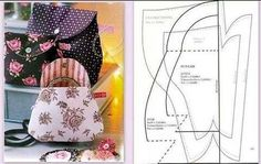 se gostar, compartilhe com as amigas!!! Molde Niqueleira Vintage! O molde está aqui : http://www.artecomquiane.com/2015/06/molde-niqueleira-vintage-de-tecido.html -- beijos no coração!