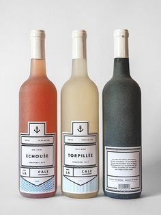 oh, these wine bottles! The label design and branding is so fantastic. The color palette is perfect with the bottle contents.