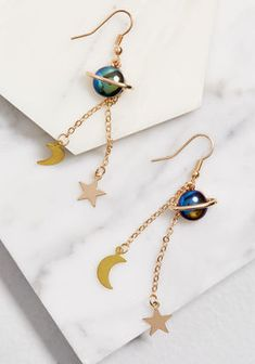 Eclectic Eccentricity Celestial Expert Earrings in Multi