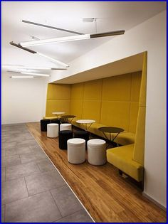 New Elevator Lobby Seating Interior Design 62 Ideas Cafe Bench, Cafe Seating, Restaurant Seating, Booth Seating, Floor Seating, Lounge Seating, Seating Plans, Seating Areas, Lounge Ideas