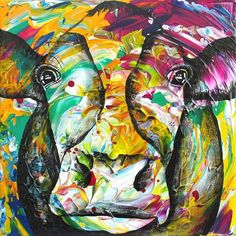 'Lightscape-Cow', Dutch artist Anita Ammerlaan. www.anitaammerlaan.exto.nl (also in english) Have a colorfull day! ;-)