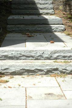bluestone slab steps