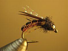 Nice little beadhead copper nymph.