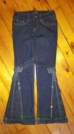 Men's Bell Bottoms Jeans Custom Made Dressy Style