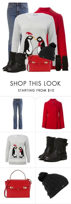 """Winter's Coming!"" by sherbear1974 ❤ liked on Polyvore featuring Levi's, Dolce&Gabbana, M&Co, Henri Bendel, Burton, Rella and plus size clothing"