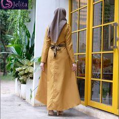 Alesha Dress Daily by Jelita Duster Coat, Raincoat, Jackets, Dresses, Fashion, Rain Jacket, Down Jackets, Vestidos, Moda