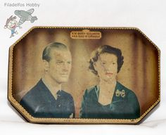 Souvenir Tin for the Coronation of HM Queen Elizabeth II Vintage 1953 England Import  http://www.ebay.com/itm/191345474116
